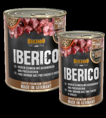 BELCANDO® Iberico Schwein mit Kichererbsen und Preiselbeeren