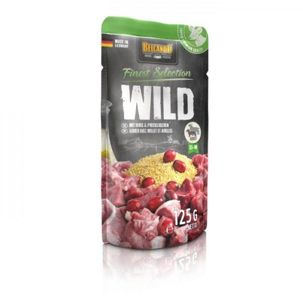 Belcando Wild mit Hirse und Preiselbeeren