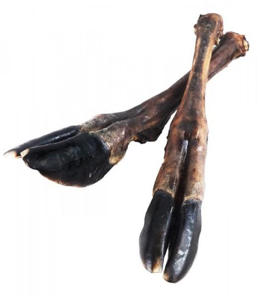 Hirschunterbein mit Sehnen verpackt, ca. 30-40 cm