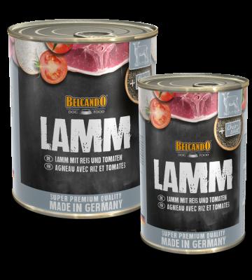 Belcando Lamm mit Reis und Tomate